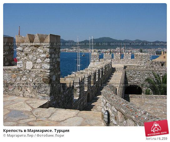 Крепость в Мармарисе. Турция, фото № 6259, снято 12 июля 2006 г. (c) Маргарита Лир / Фотобанк Лори