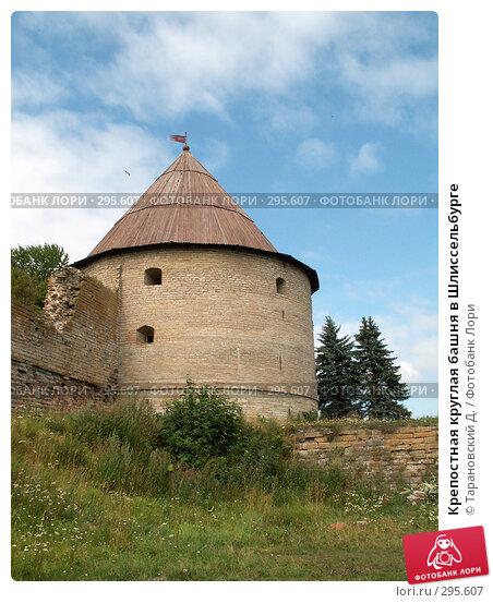 Крепостная круглая башня в Шлиссельбурге, фото № 295607, снято 5 августа 2006 г. (c) Тарановский Д. / Фотобанк Лори