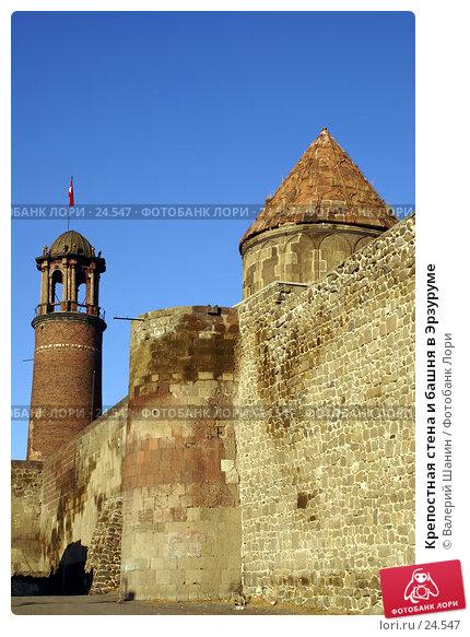Крепостная стена и башня в Эрзуруме, фото № 24547, снято 3 декабря 2006 г. (c) Валерий Шанин / Фотобанк Лори