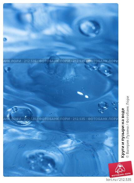 Круги и пузыри на воде, фото № 212535, снято 18 февраля 2008 г. (c) Валерия Потапова / Фотобанк Лори