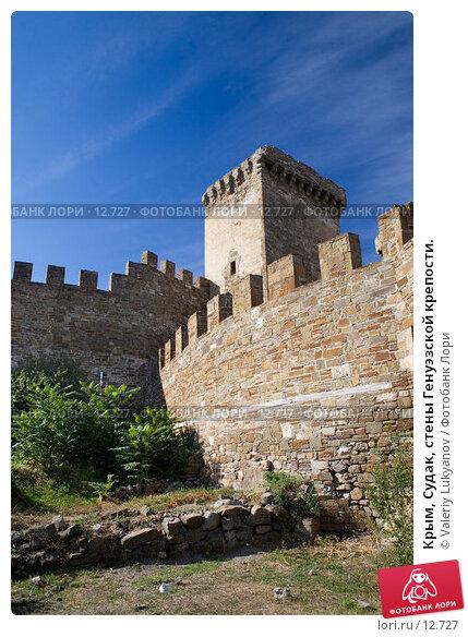 Крым, Судак, стены Генуэзской крепости., фото № 12727, снято 11 сентября 2006 г. (c) Valeriy Lukyanov / Фотобанк Лори