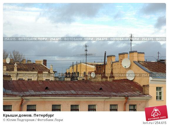 Купить «Крыши домов. Петербург», фото № 254615, снято 16 ноября 2005 г. (c) Юлия Селезнева / Фотобанк Лори