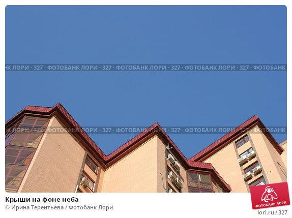 Крыши на фоне неба, фото № 327, снято 16 мая 2005 г. (c) Ирина Терентьева / Фотобанк Лори