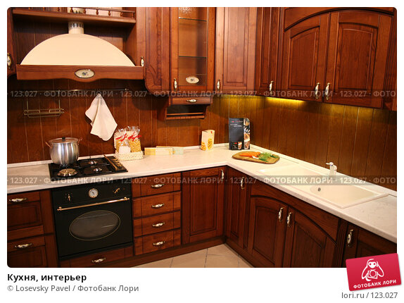 Кухня, интерьер, фото № 123027, снято 24 марта 2006 г. (c) Losevsky Pavel / Фотобанк Лори
