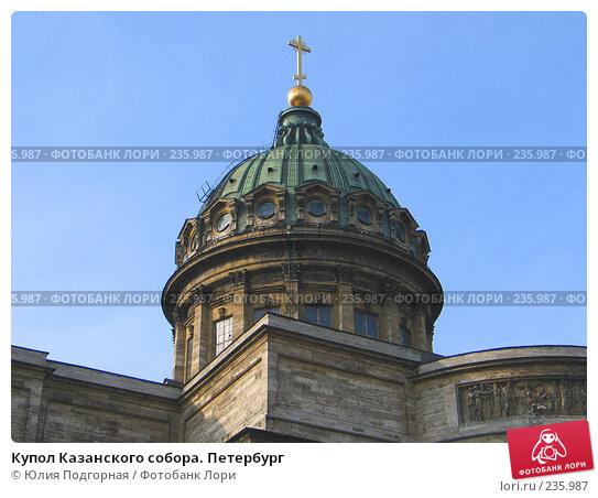 Купол Казанского собора. Петербург, фото № 235987, снято 10 марта 2008 г. (c) Юлия Селезнева / Фотобанк Лори