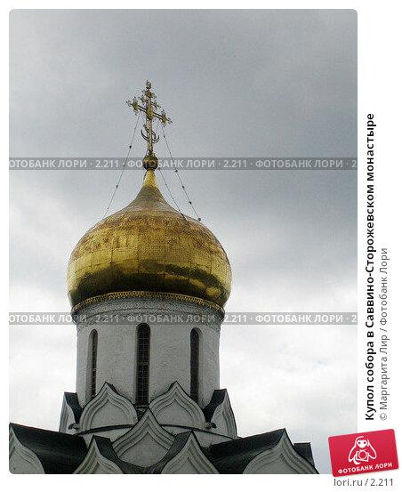 Купол собора в Саввино-Сторожевском монастыре, фото № 2211, снято 19 января 2017 г. (c) Маргарита Лир / Фотобанк Лори