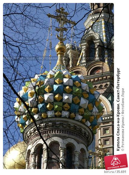 Купола Спаса-на-Крови. Санкт-Петербург, фото № 35691, снято 31 марта 2007 г. (c) Ротманова Ирина / Фотобанк Лори