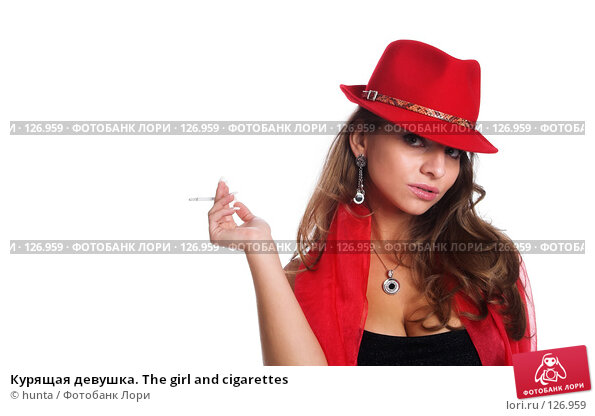 Курящая девушка. The girl and cigarettes, фото № 126959, снято 16 августа 2007 г. (c) hunta / Фотобанк Лори