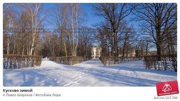 Кусково зимой, эксклюзивное фото № 217743, снято 27 января 2008 г. (c) Павел Широков / Фотобанк Лори