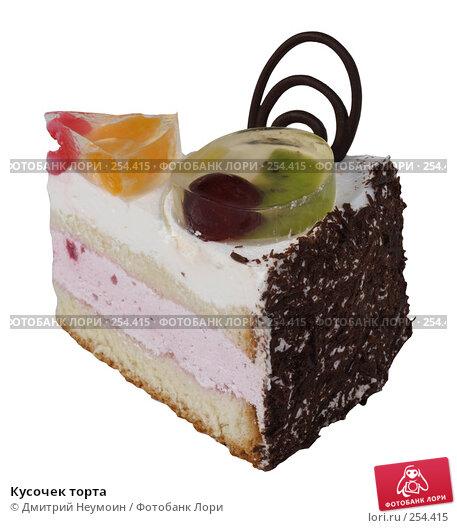 Купить «Кусочек торта», эксклюзивное фото № 254415, снято 8 июня 2006 г. (c) Дмитрий Неумоин / Фотобанк Лори