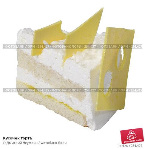 Кусочек торта, эксклюзивное фото № 254427, снято 8 июня 2006 г. (c) Дмитрий Неумоин / Фотобанк Лори