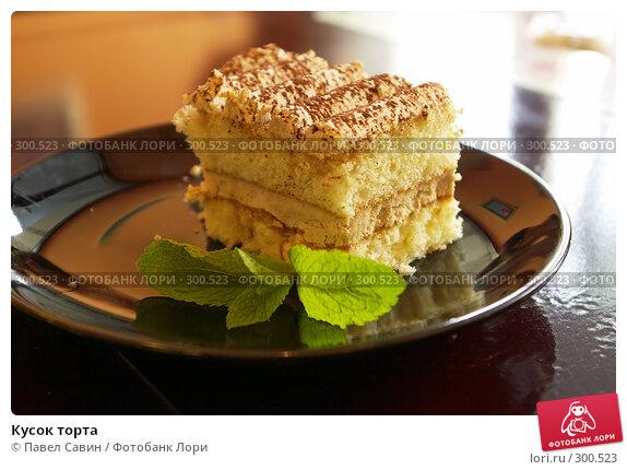 Купить «Кусок торта», фото № 300523, снято 19 апреля 2008 г. (c) Павел Савин / Фотобанк Лори