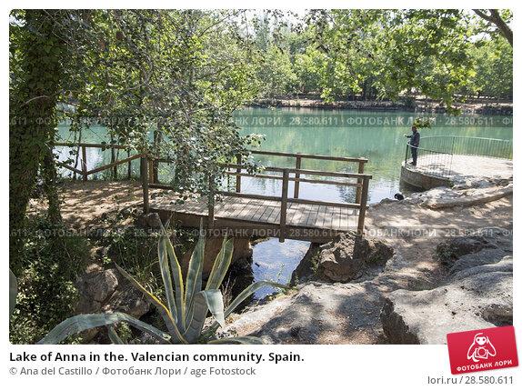 Купить «Lake of Anna in the. Valencian community. Spain.», фото № 28580611, снято 18 мая 2018 г. (c) age Fotostock / Фотобанк Лори