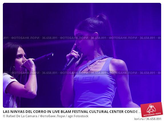 LAS NINYAS DEL CORRO IN LIVE BLAM FESTIVAL CULTURAL CENTER CONDE ... Редакционное фото, фотограф Rafael De La Camara / age Fotostock / Фотобанк Лори