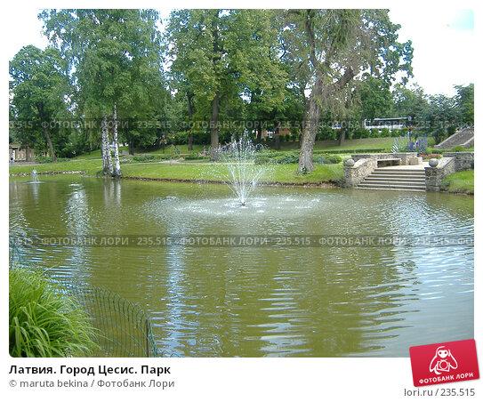 Латвия. Город Цесис. Парк, фото № 235515, снято 2 июля 2007 г. (c) maruta bekina / Фотобанк Лори