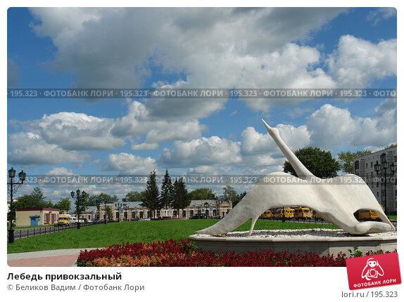 Лебедь привокзальный, фото № 195323, снято 27 июля 2007 г. (c) Беликов Вадим / Фотобанк Лори