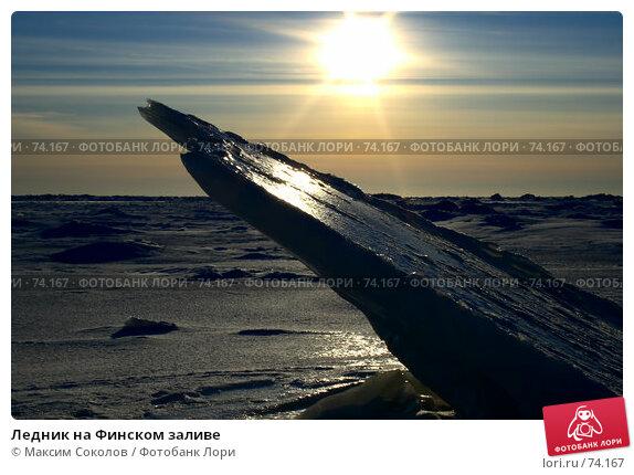 Ледник на Финском заливе, фото № 74167, снято 25 февраля 2007 г. (c) Максим Соколов / Фотобанк Лори