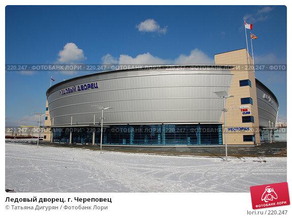 Купить «Ледовый дворец. г. Череповец», фото № 220247, снято 8 марта 2008 г. (c) Татьяна Дигурян / Фотобанк Лори