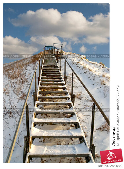 Лестница, фото № 288635, снято 3 марта 2008 г. (c) Юрий Пономарёв / Фотобанк Лори