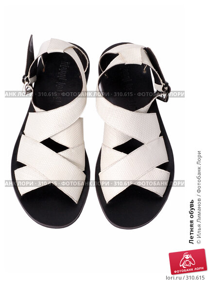 Купить «Летняя обувь», фото № 310615, снято 29 мая 2007 г. (c) Илья Лиманов / Фотобанк Лори