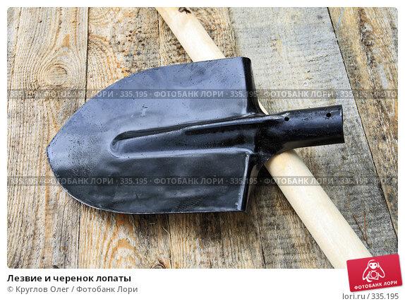 Лезвие и черенок лопаты, фото № 335195, снято 6 июня 2008 г. (c) Круглов Олег / Фотобанк Лори