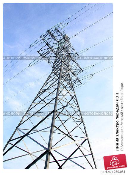 Линия электро передач ЛЭП, фото № 250051, снято 15 марта 2008 г. (c) Алексеенков Евгений / Фотобанк Лори