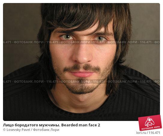 Лицо бородатого мужчины. Bearded man face 2, фото № 116471, снято 3 декабря 2005 г. (c) Losevsky Pavel / Фотобанк Лори