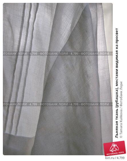 Льняная ткань (рубашка), местами видимая на просвет, фото № 4799, снято 17 июня 2006 г. (c) Tamara Kulikova / Фотобанк Лори
