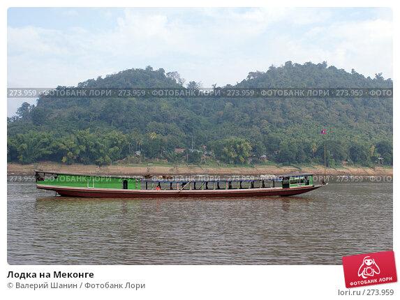 Лодка на Меконге, фото № 273959, снято 6 декабря 2007 г. (c) Валерий Шанин / Фотобанк Лори