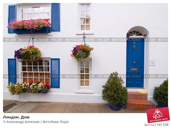 Купить «Лондон. Дом», эксклюзивное фото № 141539, снято 26 июля 2007 г. (c) Александр Алексеев / Фотобанк Лори