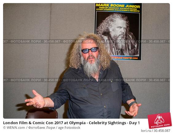London Film & Comic Con 2017 at Olympia - Celebrity Sightings - Day 1. Редакционное фото, фотограф WENN.com / age Fotostock / Фотобанк Лори