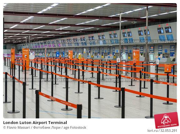 London Luton Airport Terminal. Стоковое фото, фотограф Flavio Massari / age Fotostock / Фотобанк Лори