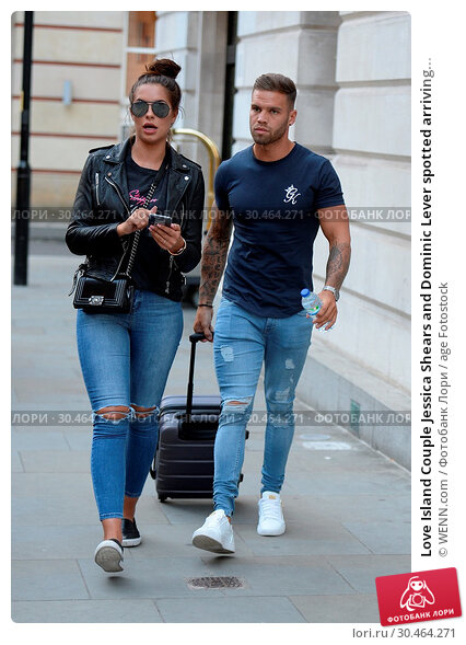Love Island Couple Jessica Shears and Dominic Lever spotted arriving... (2017 год). Редакционное фото, фотограф WENN.com / age Fotostock / Фотобанк Лори
