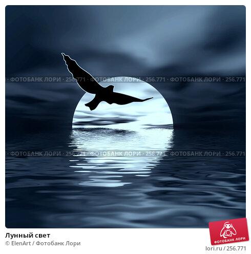 Лунный свет, иллюстрация № 256771 (c) ElenArt / Фотобанк Лори