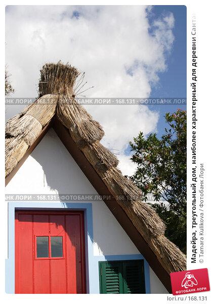Купить «Мадейра, треугольный дом, наиболее характерный для деревни Сантана», фото № 168131, снято 29 декабря 2007 г. (c) Tamara Kulikova / Фотобанк Лори