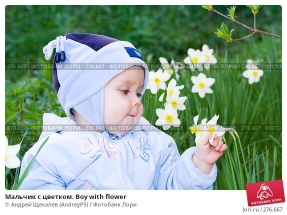 Мальчик с цветком. Boy with flower, фото № 276667, снято 19 мая 2007 г. (c) Андрей Щекалев (AndreyPS) / Фотобанк Лори