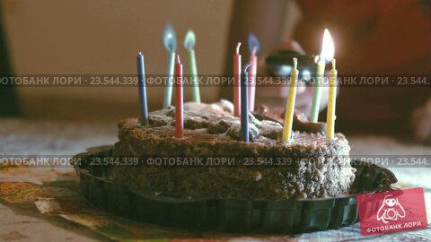 Как фотографировать свечи на торте