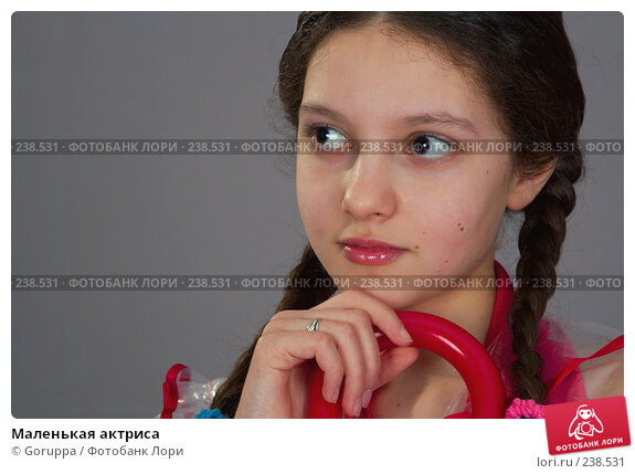 Купить «Маленькая актриса», фото № 238531, снято 11 апреля 2007 г. (c) Goruppa / Фотобанк Лори