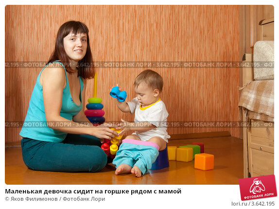 мамы какают фото