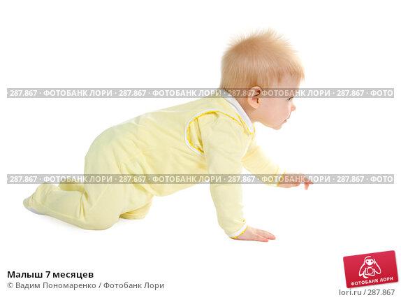 Малыш 7 месяцев, фото № 287867, снято 29 февраля 2008 г. (c) Вадим Пономаренко / Фотобанк Лори