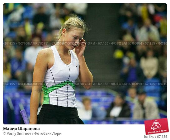 Мария Шарапова, фото № 67155, снято 12 октября 2005 г. (c) Vasily Smirnov / Фотобанк Лори