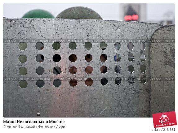 Марш Несогласных в Москве, фото № 213551, снято 3 марта 2008 г. (c) Антон Белицкий / Фотобанк Лори