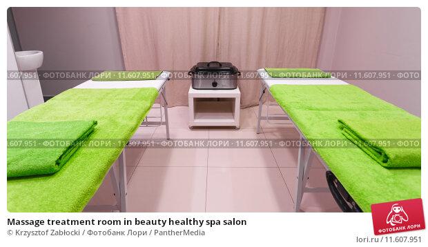 Купить «Massage treatment room in beauty healthy spa salon», фото № 11607951, снято 21 апреля 2019 г. (c) PantherMedia / Фотобанк Лори