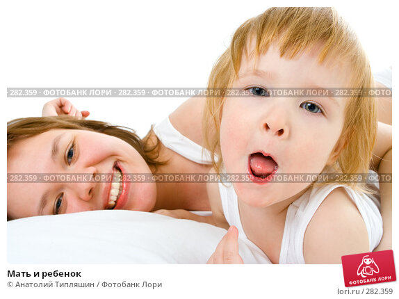 Мать и ребенок, фото № 282359, снято 11 декабря 2007 г. (c) Анатолий Типляшин / Фотобанк Лори