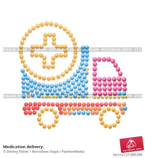 Купить «Medication delivery.», фото № 27949699, снято 27 марта 2019 г. (c) PantherMedia / Фотобанк Лори
