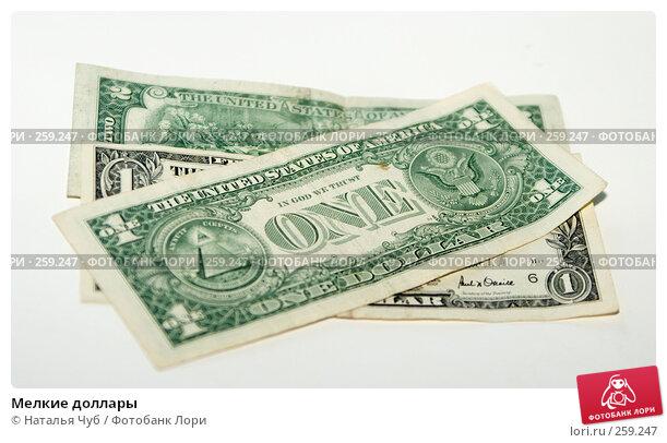 Мелкие доллары, фото № 259247, снято 23 апреля 2008 г. (c) Наталья Чуб / Фотобанк Лори