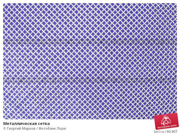 Металлическая сетка, фото № 60907, снято 9 мая 2007 г. (c) Георгий Марков / Фотобанк Лори