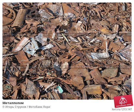 Металлолом, фото № 213147, снято 29 февраля 2008 г. (c) Игорь Струков / Фотобанк Лори