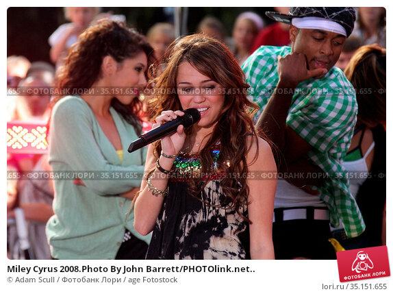Miley Cyrus 2008.Photo By John Barrett/PHOTOlink.net.. Редакционное фото, фотограф Adam Scull / age Fotostock / Фотобанк Лори