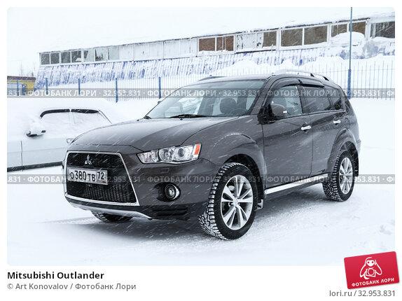 Mitsubishi Outlander. Редакционное фото, фотограф Art Konovalov / Фотобанк Лори